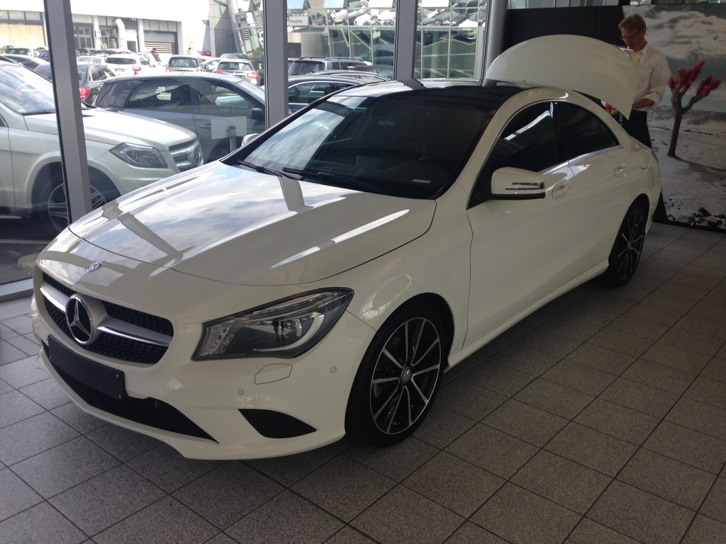Mercedes CLA 180 – 2014 – 13 615 km