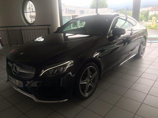 Mercedes Classe C220 Coupé – 2016 – 6 700 km