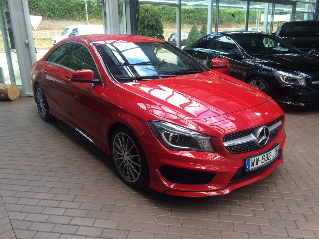 Mercedes-Benz CLA 180 – 2015 – 25 397 km