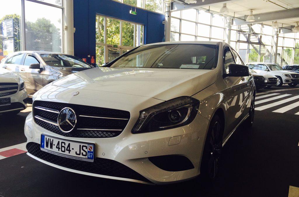 Mercedes-Benz Classe A 180 – 2015 – 9 451 km