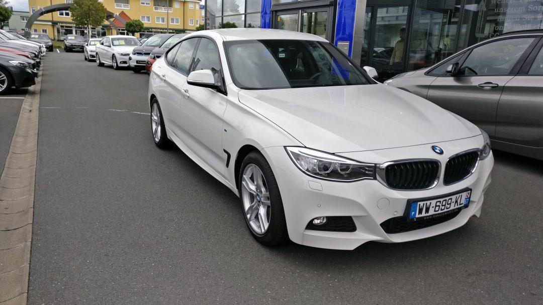 BMW 320 D Gran Turismo – 2015 – 17 243 km