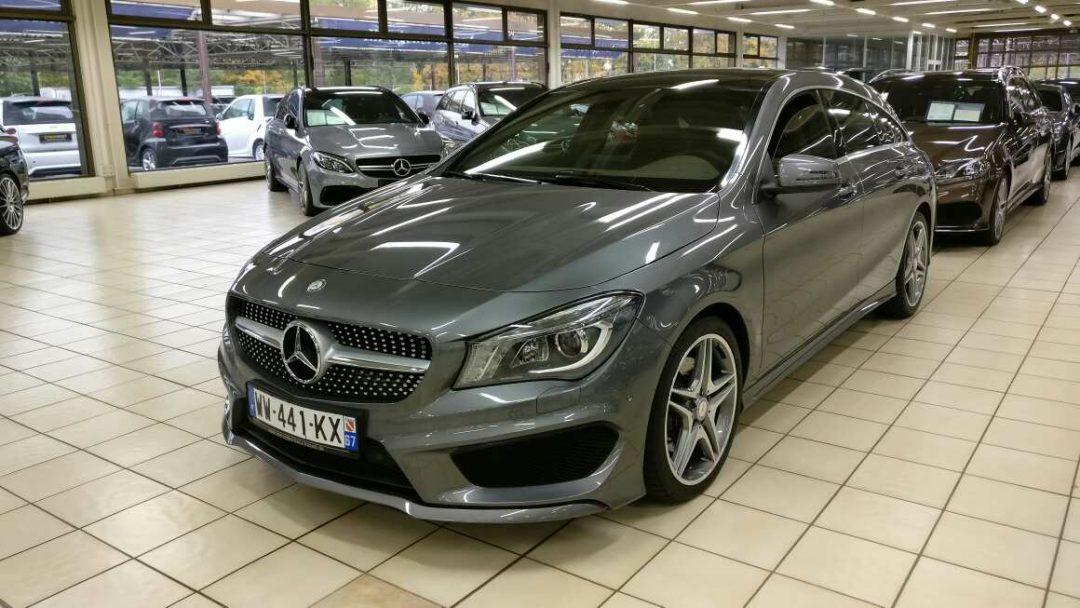 Mercedes-Benz CLA 220 Shooting Brake – 2015 – 9 903km