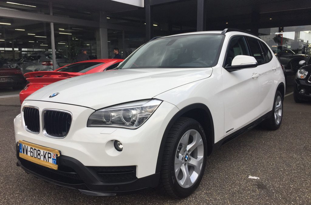 BMW X1 Xdrive – 2015 – 20 154 km