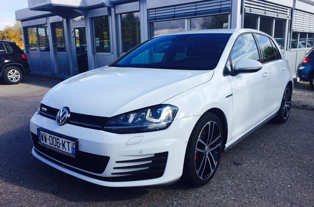 Volkswagen Golf VII GTD – 2016 – 26 544 km