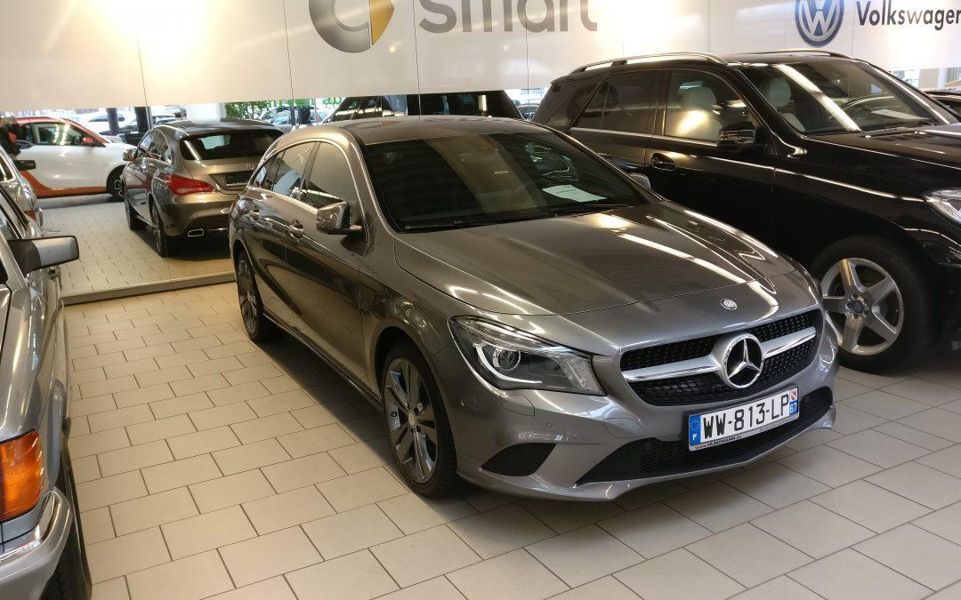 Mercedes-Benz CLA Shotting Brake – 2015 – 9 276 km