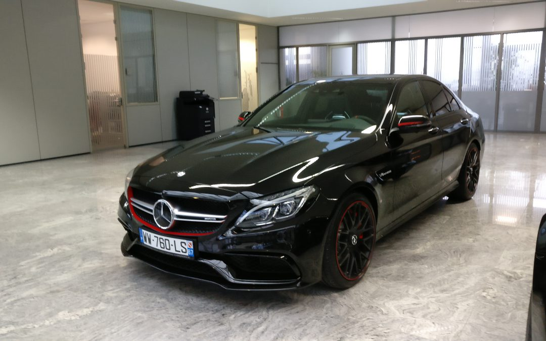 Mercedes-Benz Classe C 63 AMG S – 2016 – 8 000 km