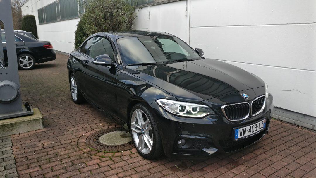 BMW 225D Coupé – 2016 – 15 897 km