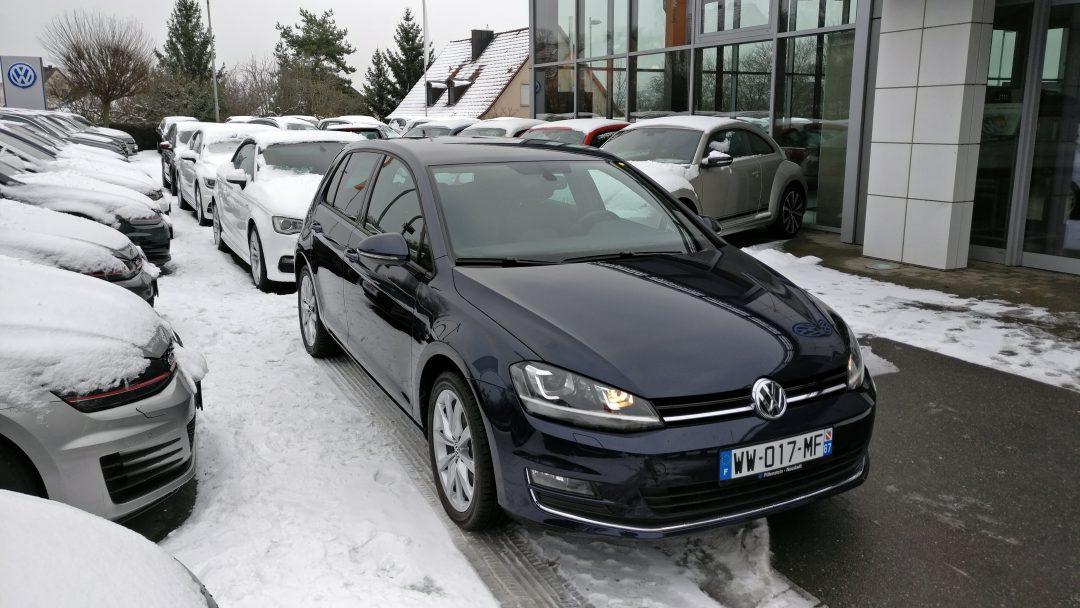 Volkswagen Golf TSI – 2015 – 7 823 km