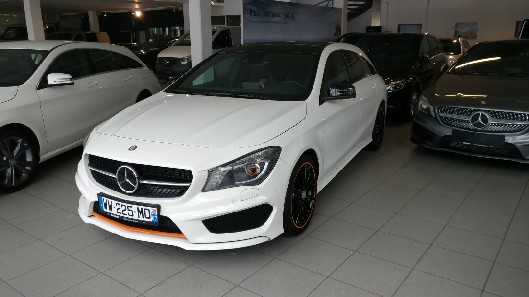 Mercedes-Benz CLA 200 Shooting Brake – 2015 – 16 164 km