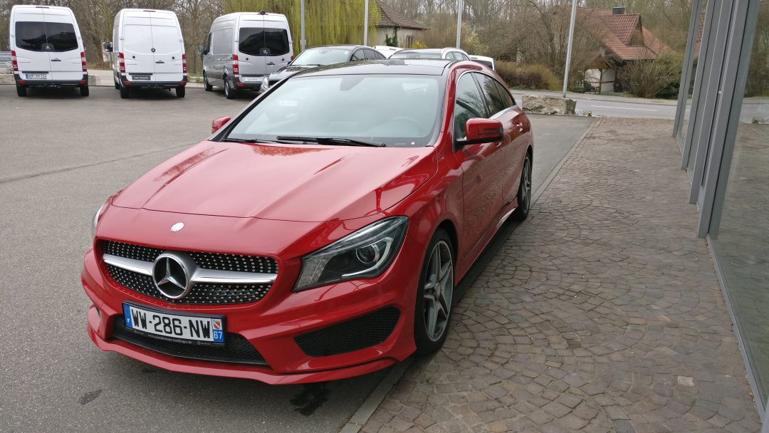 Mercedes-Benz CLA 220 CDI Shooting Brake – 2015 – 36 130 km