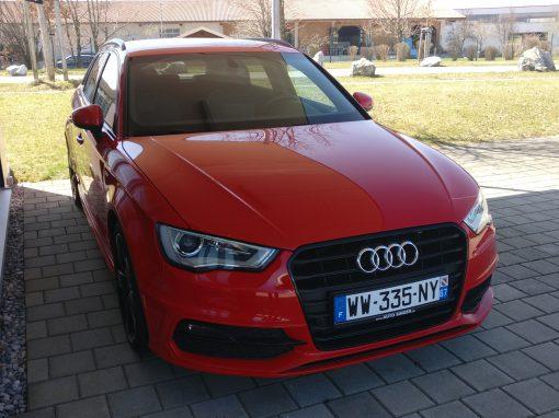 Audi A3 Sportback – 2013 – 110 772 km