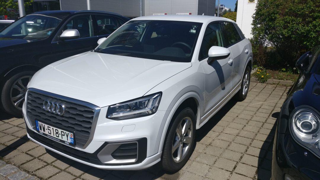 Audi Q2 Sport Stronic – 2016 – 10 831 km