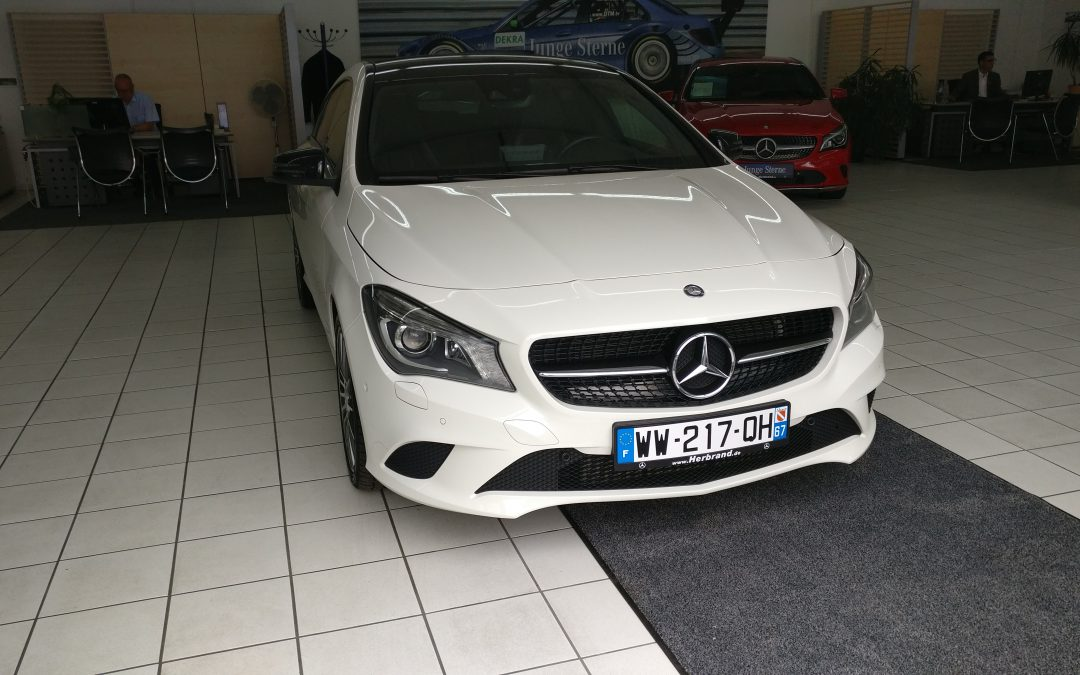 Mercedes-Benz CLA 200 Shooting Brake – 2016 – 12 522 km