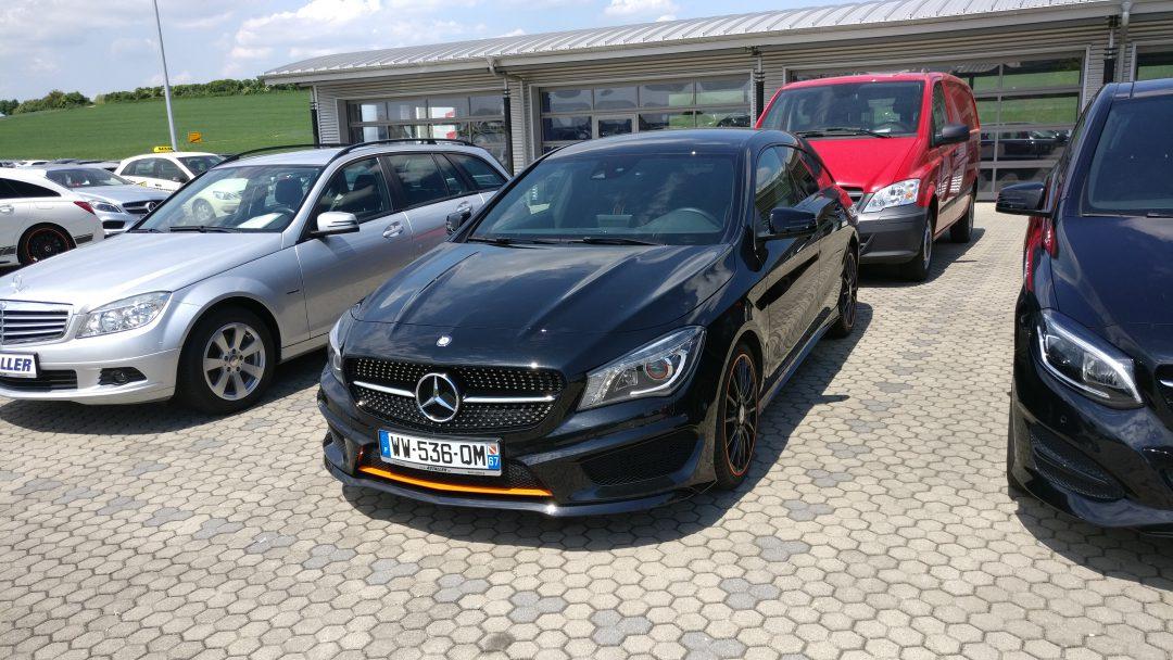 Mercedes-Benz CLA 220D Shooting Brake – 2016 – 22 748 km
