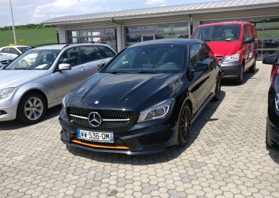 Mercedes-Benz CLA 220D Shooting Brake Orange Art 3