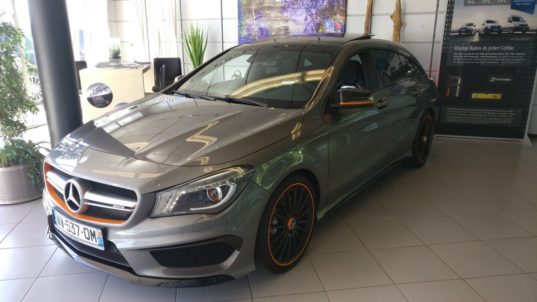 Mercedes-Benz CLA 45 AMG Shooting Brake – 2016 – 11 137 km