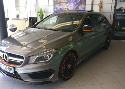 Mercedes-Benz CLA 45 AMG Shootig Brake Orange Art