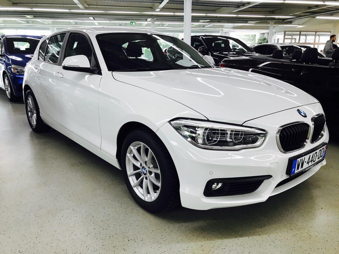 BMW 116 D 5 portes – 2016 – 18 484 km