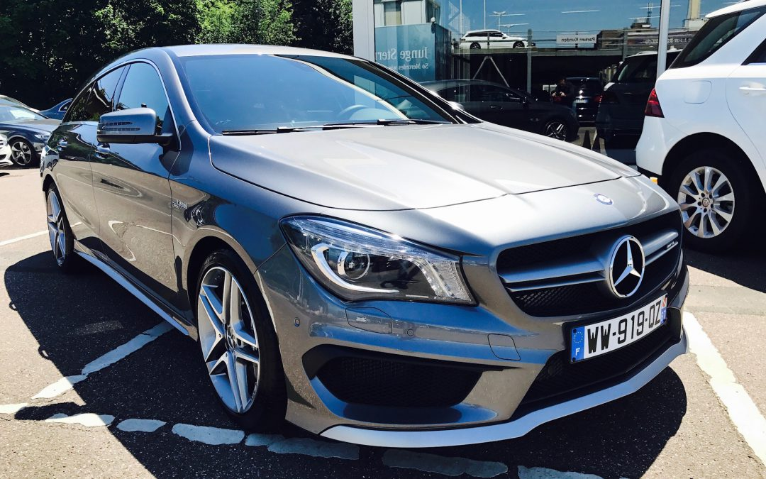 Mercedes-Benz CLA 45 AMG Shooting Brake – 2016 – 8 091 km