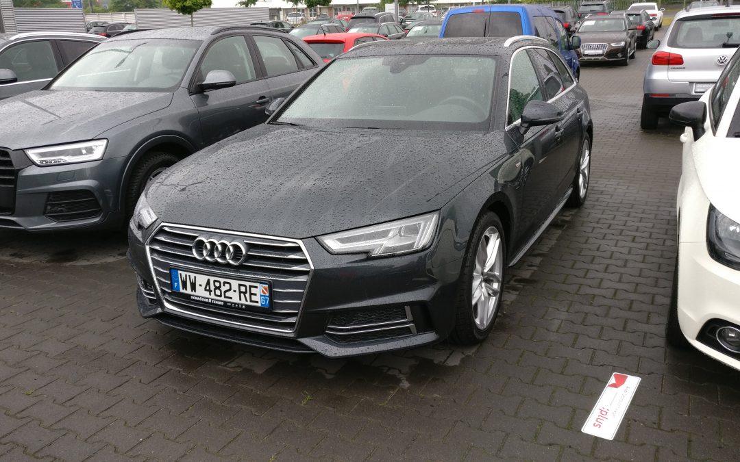 Audi A4 Avant S Tronic – 2016 – 27 924 km