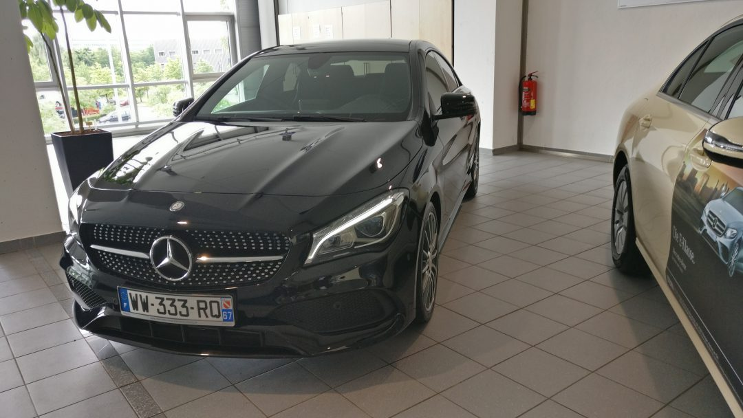 Mercedes-Benz CLA 220D Coupé – 2017 – 15 358 km